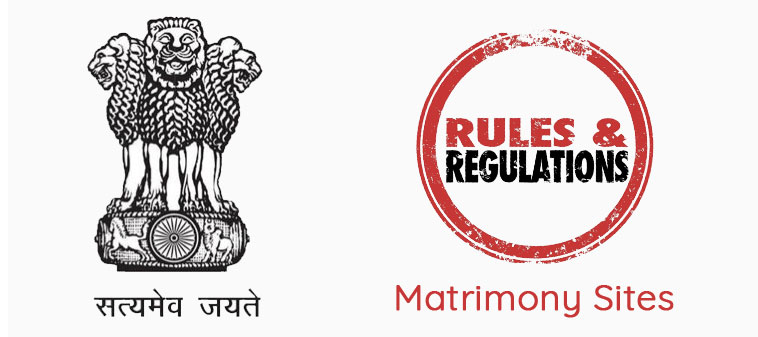 official government ruls of matrimony website